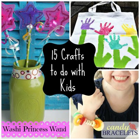 easy kid crafts 15 easy crafts to do with
