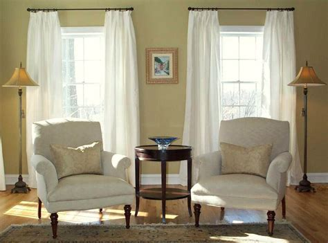 window treatments white silk drapes   laurel home