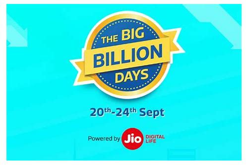 deals of big billion day 2018