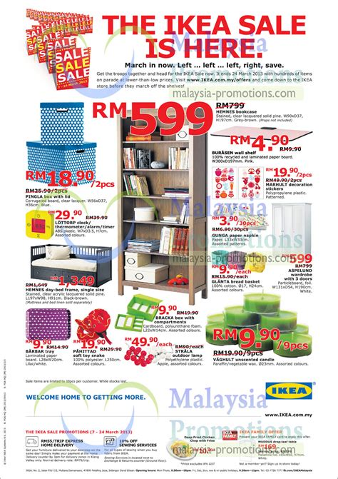 upcoming ikea sales ikea sale 7 24 mar 2013