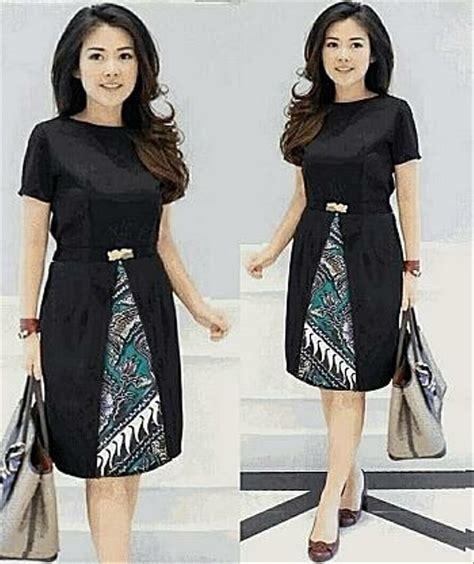 jual  dress batik modern  lapak kids women