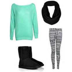 Cute Teen Outfits with Leggings for Girls