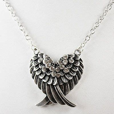 rhinestone wing necklace products i want