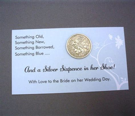 Lucky Sixpence  Bride's Keepsake: Weddingfavours.ca