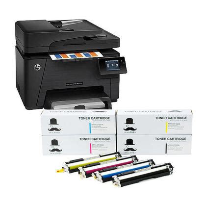hp® color laserjet pro mfp m177fw all in one printer with