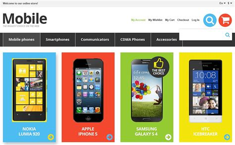themes mobile store responsive mobile store magento theme 44977