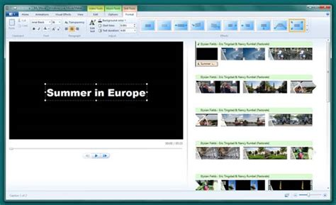 windows 7 movie maker tutorial timeline windows live movie maker things you should know