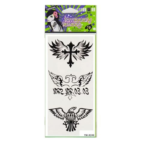 eagle henna tattoo designs eagle cross totem design waterproof temporary
