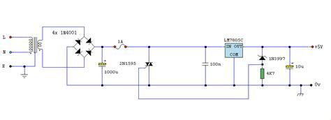 capacitor overvoltage logic psu with overvoltage protection
