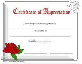 Free Printable Certificate Of Appreciation Templates by Free Certificate Of Appreciation New Calendar Template Site