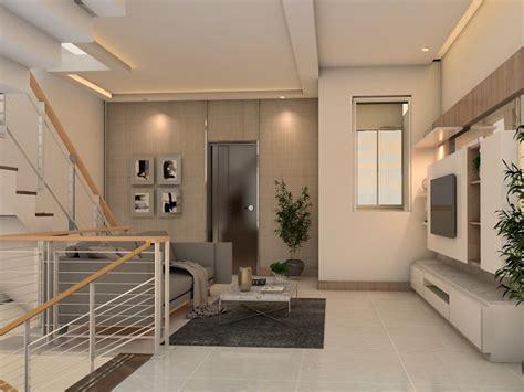 desain plafon ruang tamu elemen interior  menarik