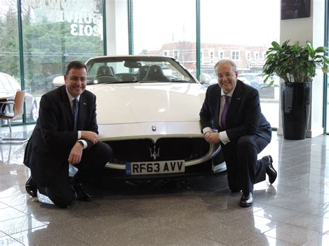maserati dealership maserati dealership ridgeway opens in oxford