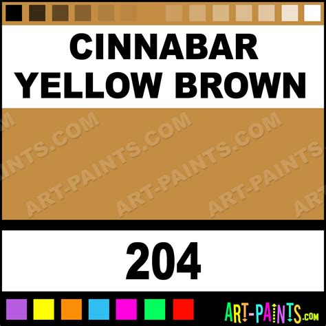 cinnabar yellow brown pastel paints 204 cinnabar yellow brown paint cinnabar yellow
