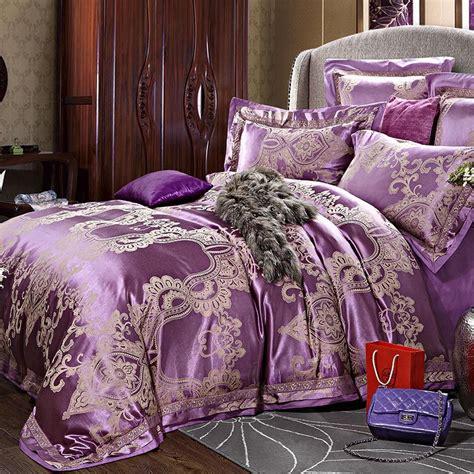 linge de lit en soie pas cher pas cher big promotion luxe soie ensemble de literie