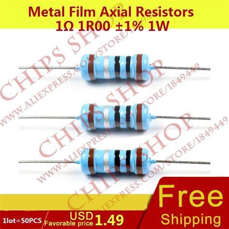 1w resistors buy buy wholesale resistor 1ohms from china resistor 1ohms wholesalers aliexpress