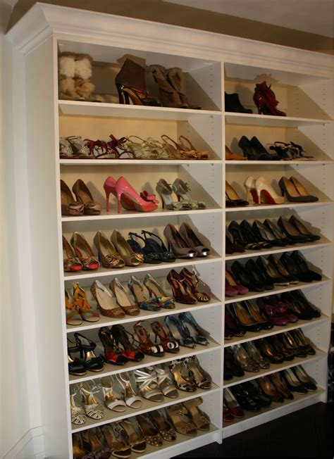 wall storage for shoes womens shoe closet toronto custom concepts kitchens