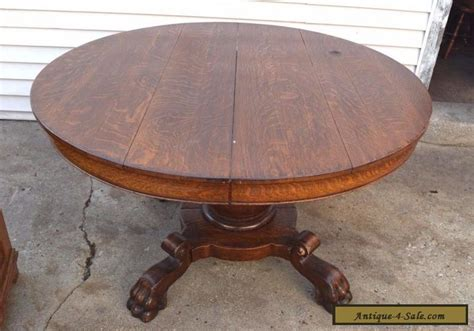 antique round table with claw antique victorian round dining solid wood table with claw