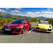 Honda NSX Vs Porsche 911 Turbo  Pictures Auto Express