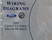 2005 Ford Crown Victoria Mercury Grand Marquis Wiring