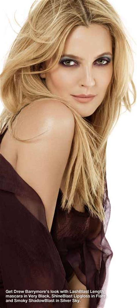 Drew Barrymore Signs With Covergirl Cosmetics by Covergirl Smoky Shadowblast Citrus Flair 820