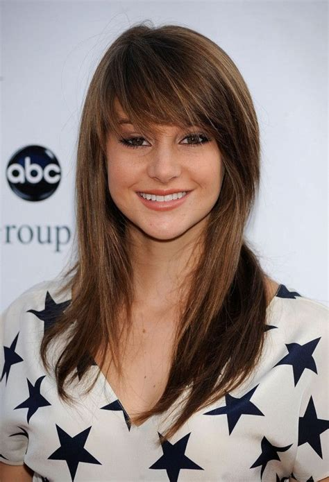 front view of side swept hairstyles front side swept bangs www pixshark com images