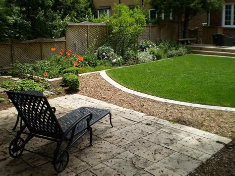 Landscaped Backyard Ideas Landscaping Gardening Backyard Designs On A Budget Backyard Landscaping Patio Decorating