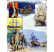 Scrapbook Of The British Sailor Captain James Cook