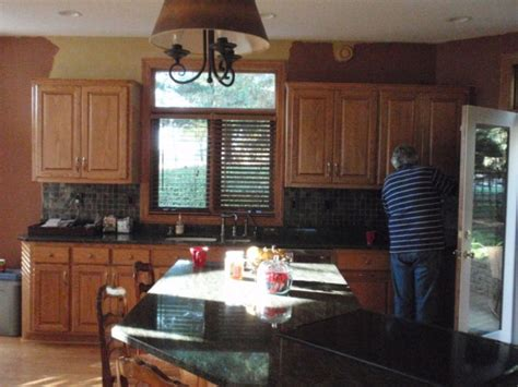 Golden Oak Kitchen Update by Information About Rate Space Questions For Hgtv
