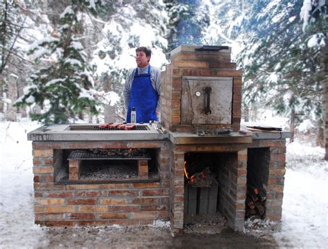 home built smoker plans create brick bbq plans before building barbeque or grill