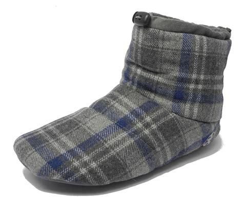 fleece boot slippers mens bedroom athletics brushed cotton soft fleece fur boot