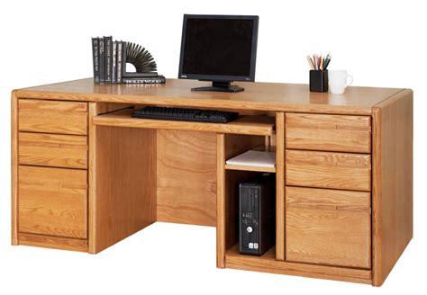 executive computer desk choose from matching pieces furnish your entire office