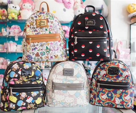 Cute New Bags & Backpacks! Sanrio & Pokemon by Loungefly