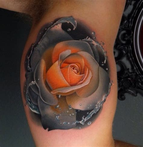 orange roses tattoo reddit for tattoos