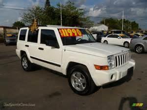 2006 jeep commander 4x4 in white 346054 jax