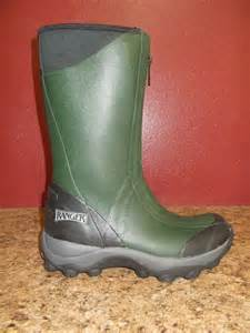 Men s ranger pike collection front zip rubber boots r21812n ebay