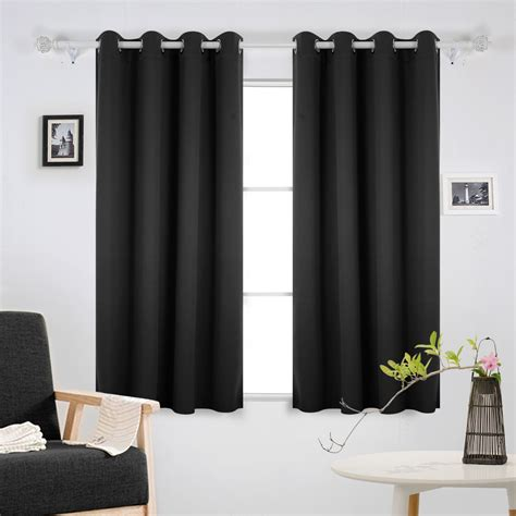 bedroom eyelet curtains 57 off deconovo super soft thermal insulated ready made eyelet blackout curtains for