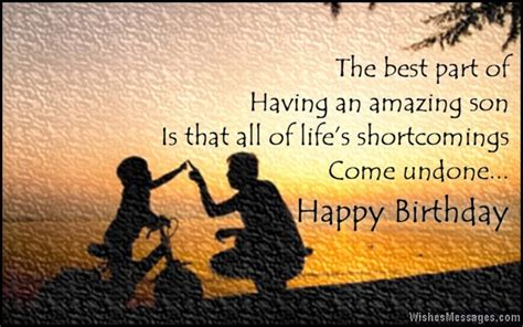 Birthday Cards To On Birthday Wishes For Son Quotes And Messages Sms Text