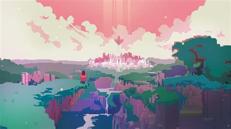 wallpaper desktop pixel hyper light drifter video games pixels wallpapers hd
