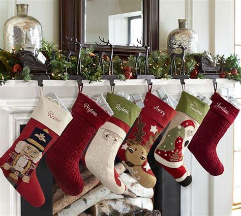 santa and reindeer holders santa s sleigh holders pottery barn