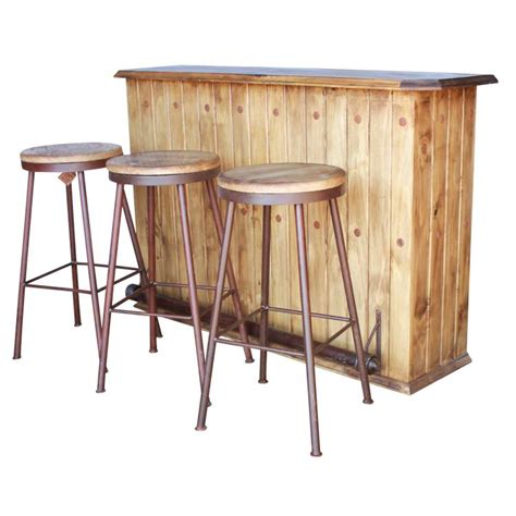 rustic mexican bar stools rustic pine collection swivel bar stool ban821
