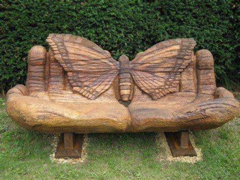 outdoor butterfly bench solid wood benches indoor and outdoor decoration find