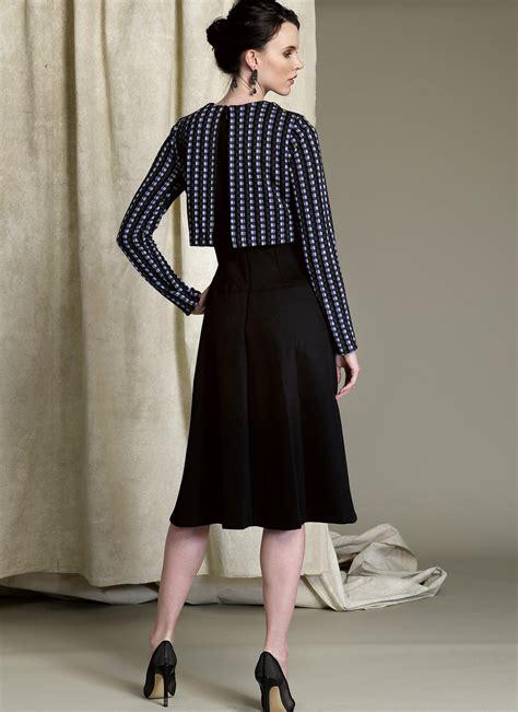 Dress Vogue vogue patterns 1512 misses popover midi dress sewing pattern