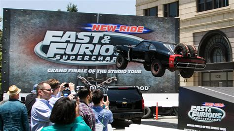 fast and furious ride vin diesel dedicates fast furious universal studios