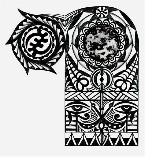 african tribal tattoos half sleeve adinkra warrior tribal half sleeve