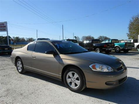 automotive air conditioning repair 2006 chevrolet monte carlo electronic toll collection buy used 2006 chevrolet monte carlo lt coupe 2 door 3 5l 3490cc 213 cu in v6 flex ohv in