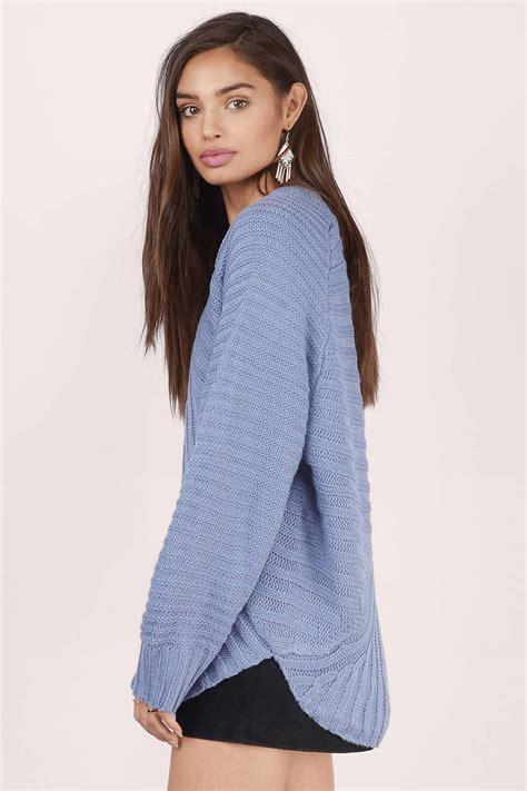 light blue cardigan sweater light blue sweater blue sweater knitted sweater tobi