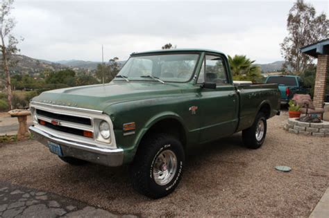 1968 chevy truck k10 bed 4x4 4wd for sale photos