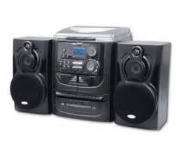 magnasonic hifi home audio 3 cd stereo micro system w