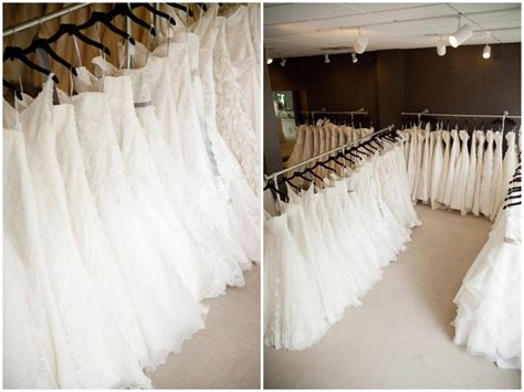 The Rack Wedding Dresses by Bridal Boutique Dress Racks With A Modern Elegance