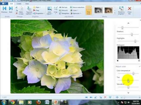 windows 10 photo gallery tutorial how to edit photos with windows live photo gallery youtube
